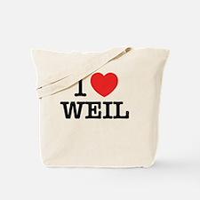 Cute Weil Tote Bag