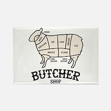 Butcher Lamb Magnets