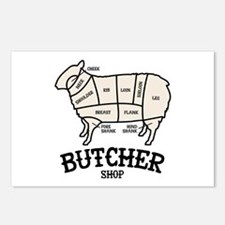 Butcher Lamb Postcards (Package of 8)