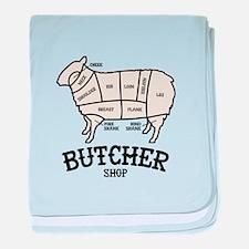 Butcher Lamb baby blanket