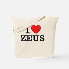 Funny Zeus Tote Bag