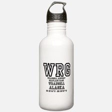 AIRPORT CODES - WRG - Sports Water Bottle