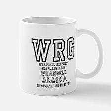 AIRPORT CODES - WRG - WRANGELL, SEAPLANE BASE Mugs