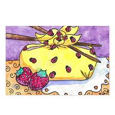 Ladybug Bento Box Postcards (Package of 8)