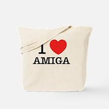 Cute Amiga Tote Bag