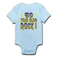 50 Year Olds Rock ! Infant Bodysuit