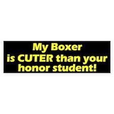 Cuter Boxer Bumper Bumper Sticker