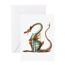 sir draagon greeting card