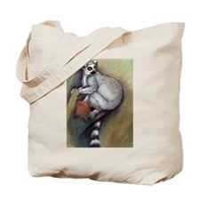 lemur 1 tote bag