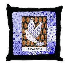 La Paloma Square Throw Pillow