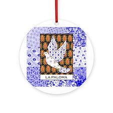 La Paloma Square Ornament (Round)