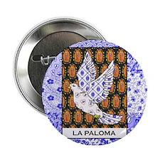 """La Paloma Square 2.25"""" Button (100 pack)"""