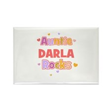 Darla Rectangle Magnet