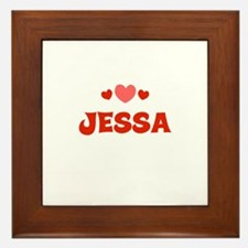 Jessa Framed Tile