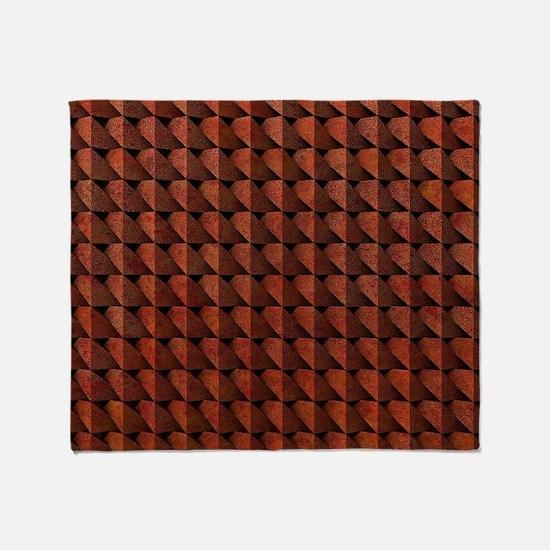 Corten Steel Throw Blanket