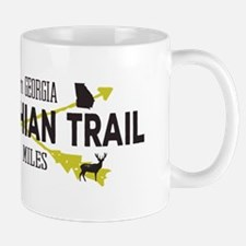 Hip Appalachian Trail Retro Badge Mugs
