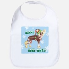 Holiday Chinese Crested Bib