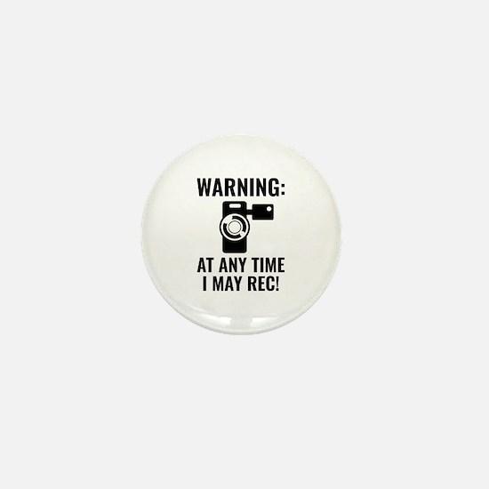 I May Rec Mini Button