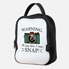 I May Snap Neoprene Lunch Bag