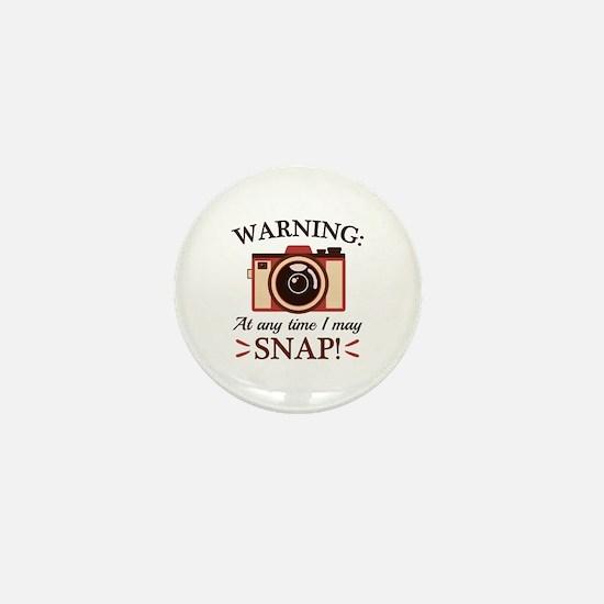 I May Snap Mini Button