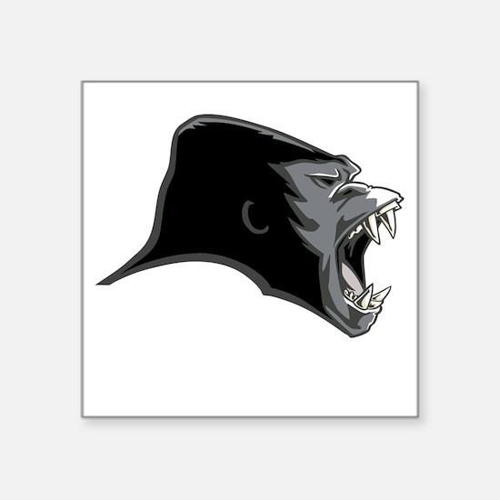 Gorilla Head Sticker