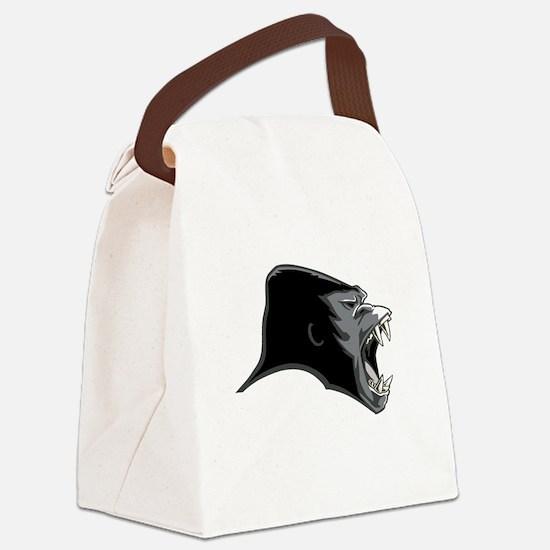 Gorilla Head Canvas Lunch Bag