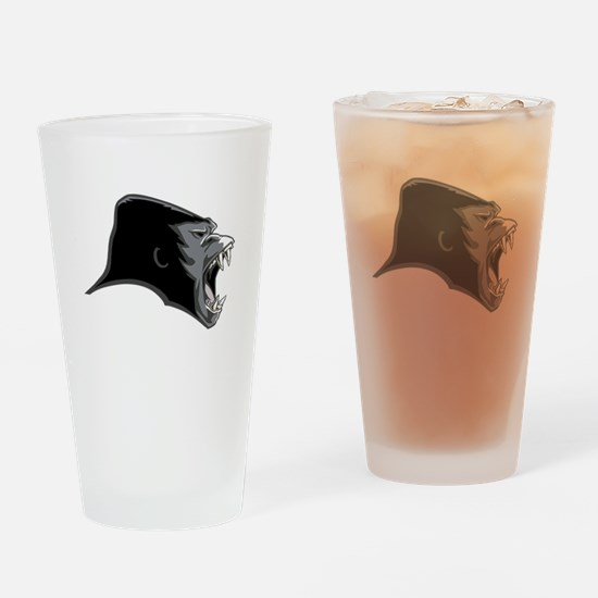 Gorilla Head Drinking Glass