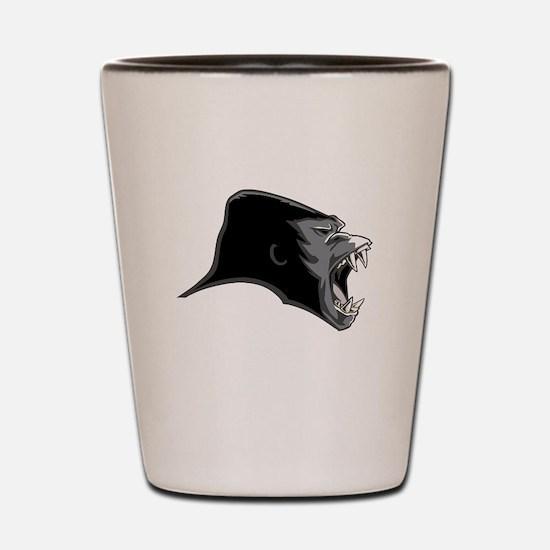 Gorilla Head Shot Glass