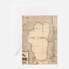 Cute Lake tahoe Greeting Card