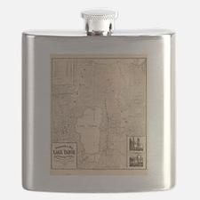 Funny Lake tahoe Flask