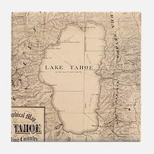 Unique Tahoe Tile Coaster