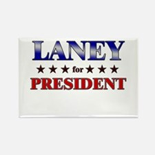 LANEY for president Rectangle Magnet