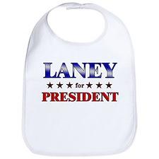 LANEY for president Bib