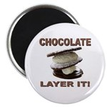 Chocolate Layer It Magnet