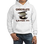 Chocolate Layer It Hooded Sweatshirt