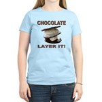 Chocolate Layer It Women's Light T-Shirt