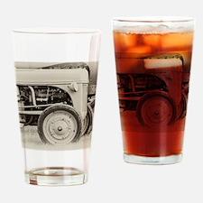 Farm Tractors Drinking Glass