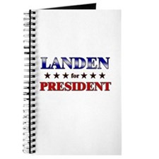 LANDEN for president Journal