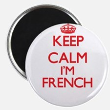 Keep Calm I'm French Magnets