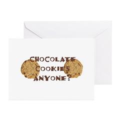 ChocolateCookies? Greeting Cards (Pk of 10)