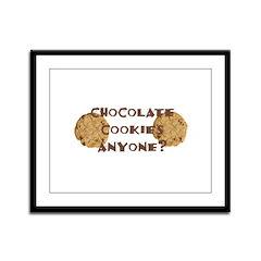ChocolateCookies? Framed Panel Print