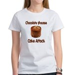 Chocolate Mousse Cake Attack Women's T-Shirt