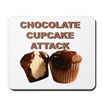 Chocolate Cupcake Attack Mousepad