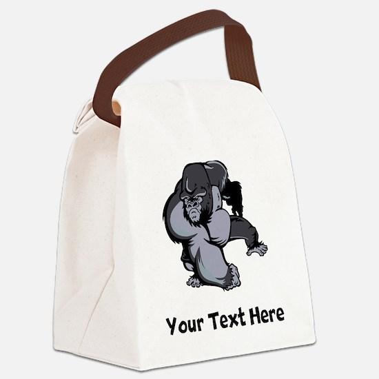 Big Gorilla (Custom) Canvas Lunch Bag