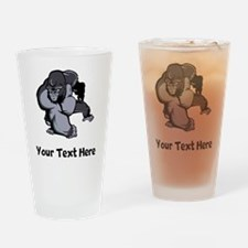 Big Gorilla (Custom) Drinking Glass