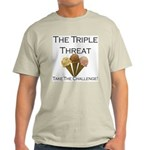 Triple Threat Take the Challe Light T-Shirt