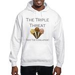 Triple Threat Take the Challe Hooded Sweatshirt