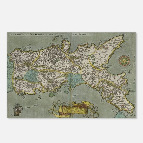 Funny Naples Postcards (Package of 8)