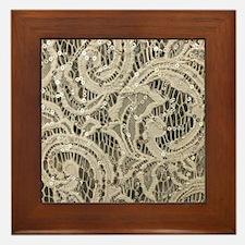 Cute Glittery Framed Tile