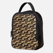 Wood Carving Neoprene Lunch Bag
